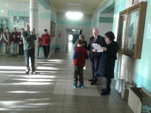 Wizyta pana Piotra Polaka – posła na Sejm RP 17/18
